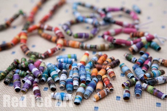 How to… make Magazine Beads