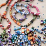 How to make magazine beads - a wonderful activity for kids.