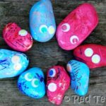 Kids Craft: 8 Rock Monsters & a Ladybird
