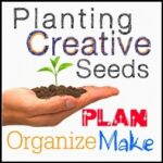 White Planting Creative Seeds