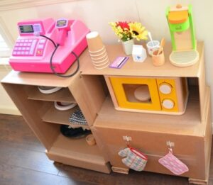 cardboard cafe craft