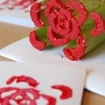 cerlery print rose