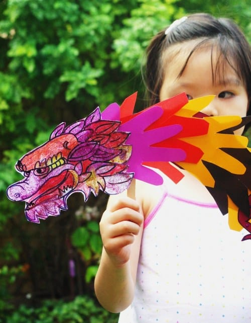 chinese new year craft dragon (2)