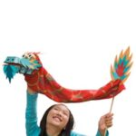 chinese new year craft puppet