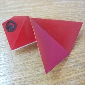 chinese new year goldfish origami