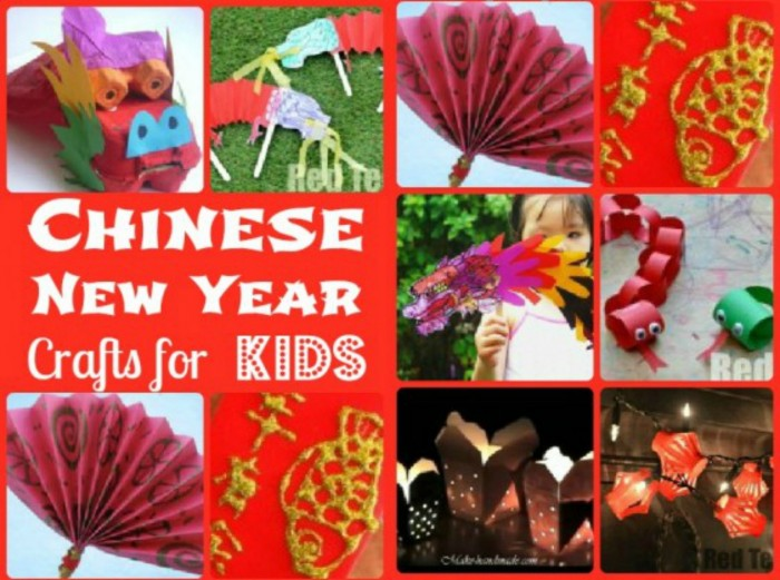 Chinese New Year Get Crafty Red Ted Art