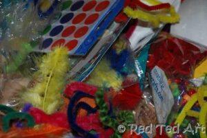 organising your craft materials