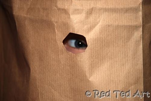 paper bag craft challenge
