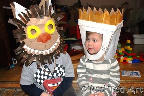 paper bag craft ideas  sc 1 st  Red Ted Art & Kids Crafts: Paperbag Craft Challenge - Red Ted Artu0027s Blog