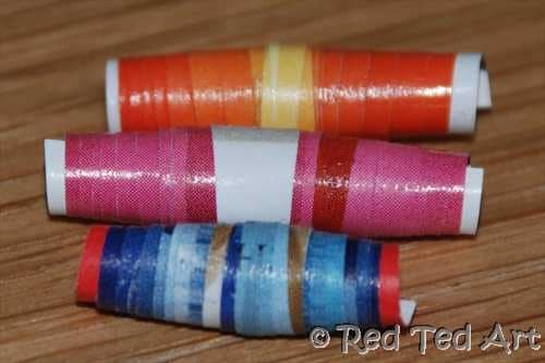easy paper beads