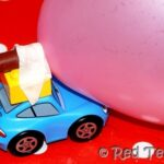 cars party balloon race