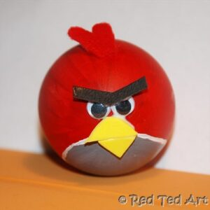 Quick Craft Post Angry Birds Eggs Red Ted Arts Blog