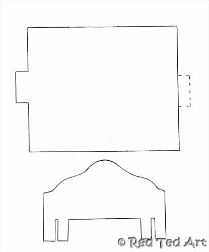 American Girl doll furniture pattern: Woodworking instructions.