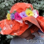 newspaper bonnet
