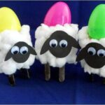 easter lamb craft