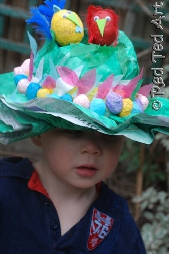 easy easter bonnets