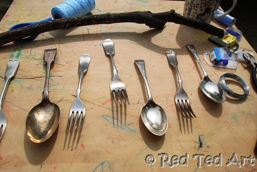 How To… Make Cutlery Wind Chimes
