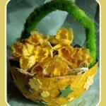 spring crafts basket