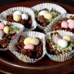 Kids Crafts: Chocolate Easter Nest