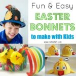 Easy Easter Bonnet Craft Ideas for Kids and Preschoolers