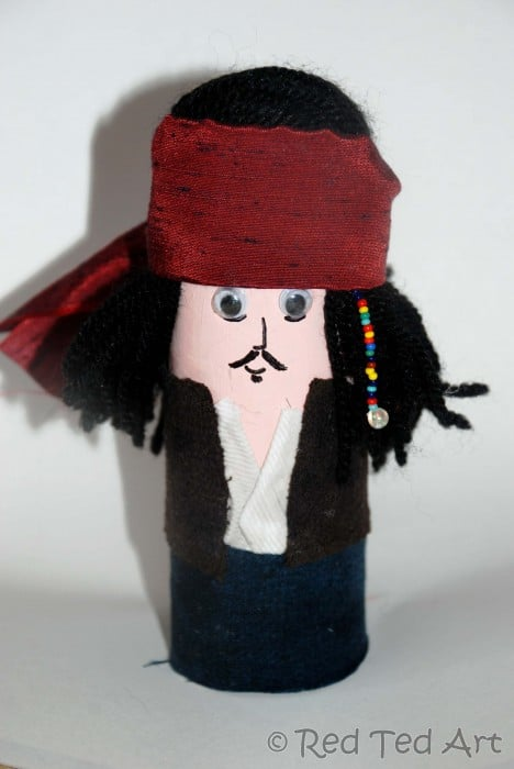 Quick Craft Post: Loo Roll Guess Who!