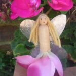 spring crafts fairy doll