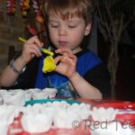 Egg Carton Spring Crafts