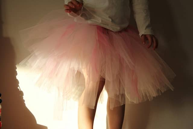 how to make a skirt tu tu