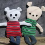 easy DIY teddy pattern