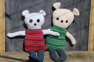 easy DIY teddy pattern
