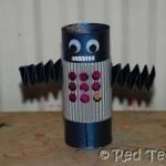 cardboard-tube-robot