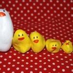 spring crafts chicks