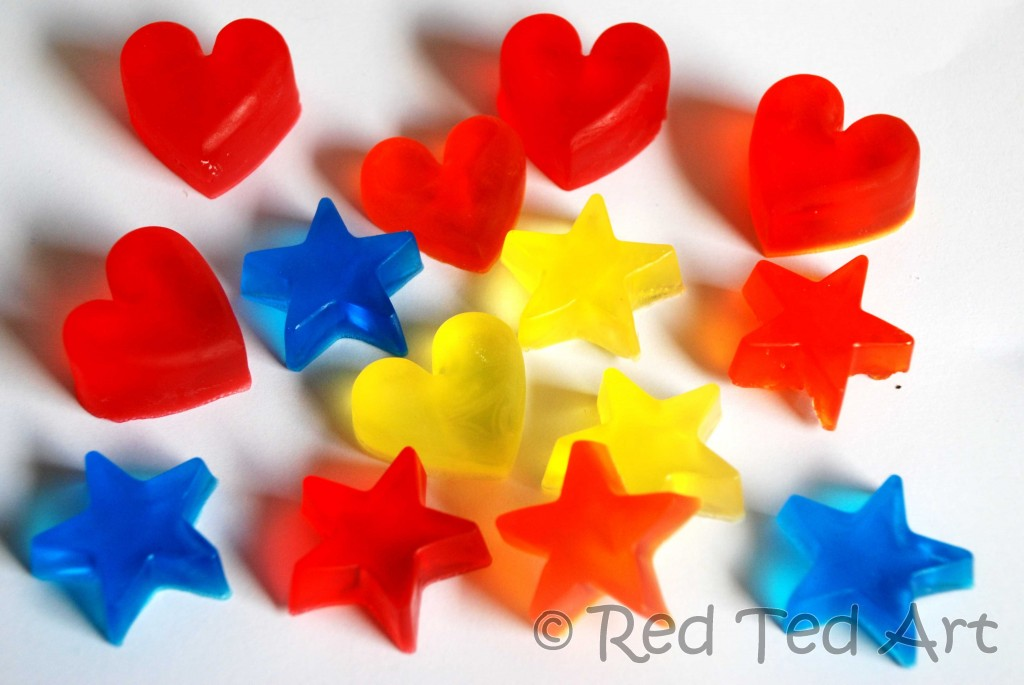 Quick craft post easy melt pour soaps red ted art 39 s blog for Soap craft for kids