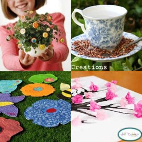 spring crafts to inspire