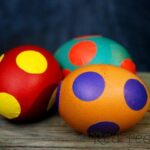 Quick Kids Craft: Easy Spotty Eggs