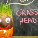 Kids Crafts: Grass Heads