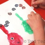 Handprint Crafts alphabet
