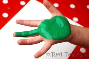 toddler Handprint Crafts