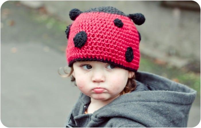 Ladybird Hat Crochet Pattern