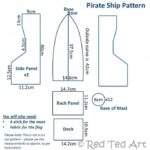 Pirate ship dimensions