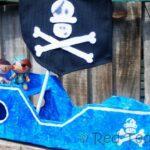 diy cardboard ship
