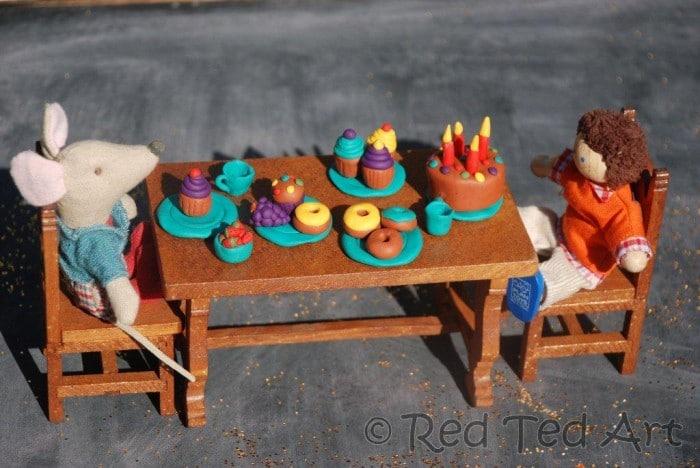 dolls house tea party