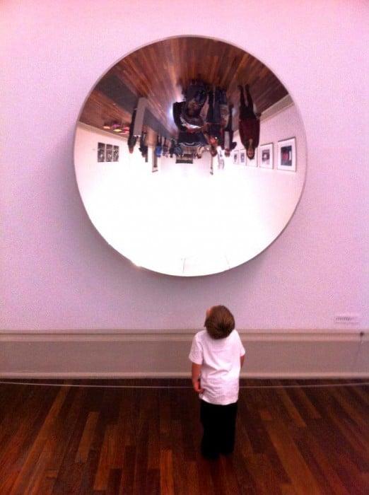 exploring art with kids