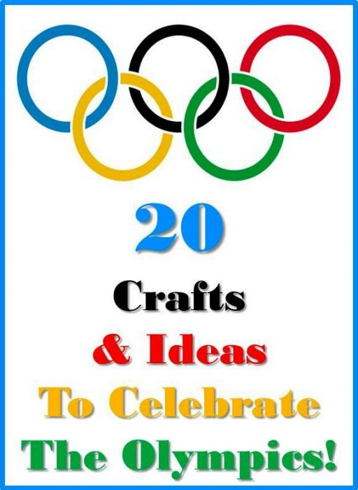 Olympics crafts & activities We love celebrating the Olympics and as the kids get older they are really excited about watching the Olympics and doing more Olympic Crafts and activities. #winterolympics #olympics