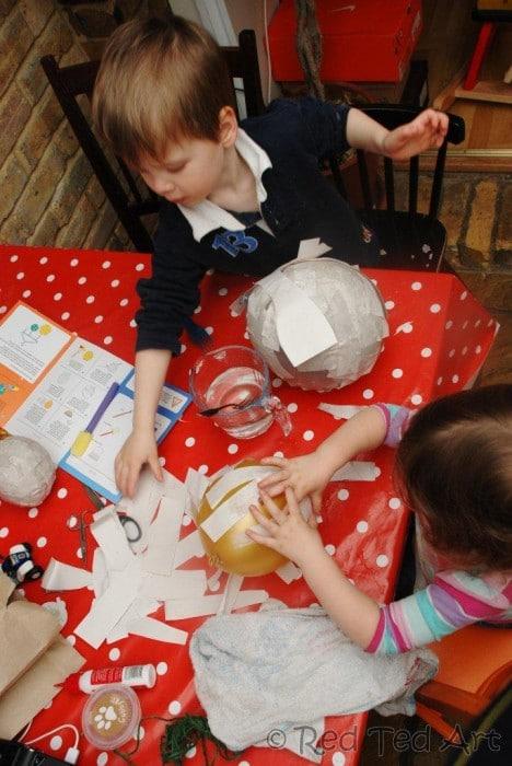 Kids Crafts: Solar System