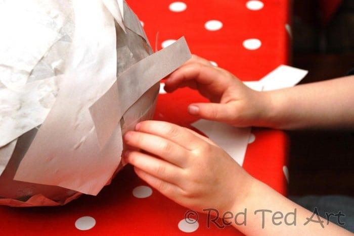 paper mache kids