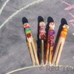 Kids Crafts: Clothes Pins Pirates