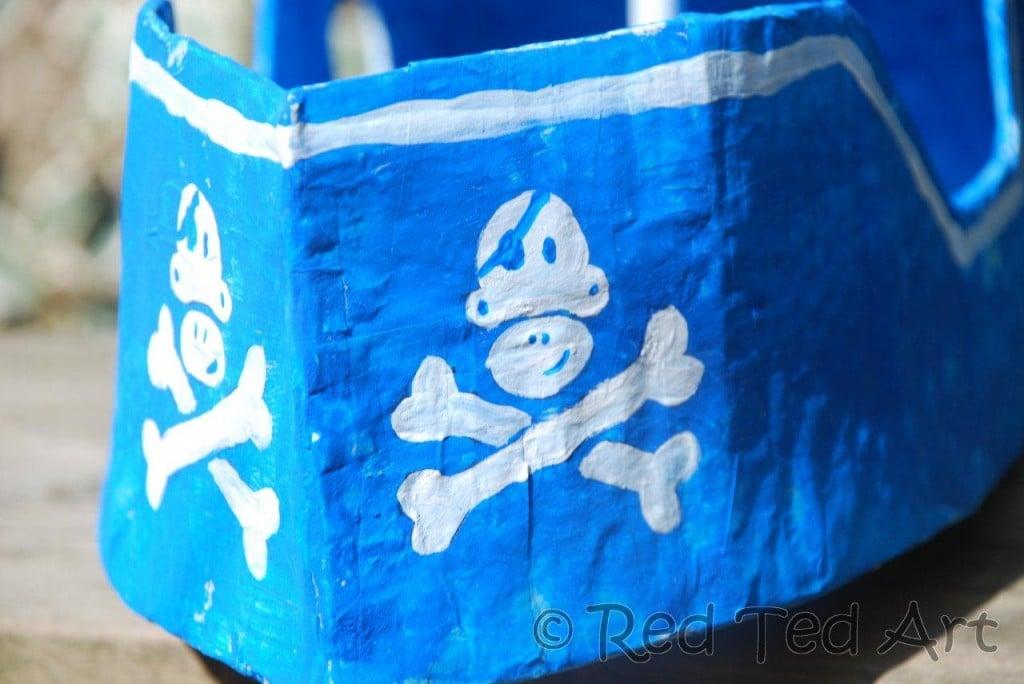 How To Make A DIY Pirate Ship