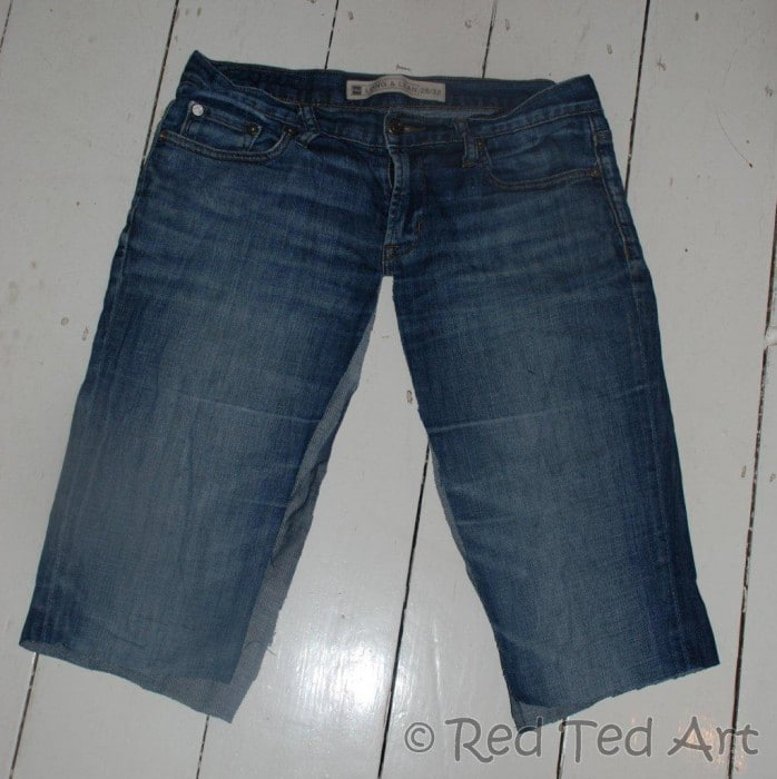 upcycled jeans project (2)