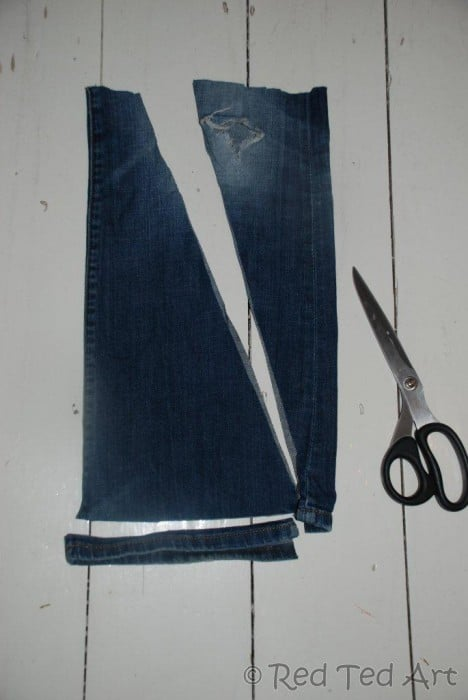 upcycled jeans project (5)